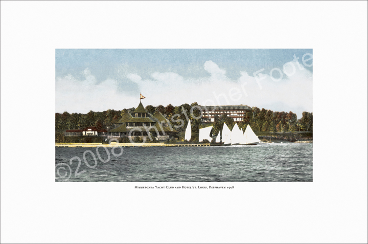 Deephaven Hotel and Yacht Club, Lake Minnetonka, Minnesota Photo