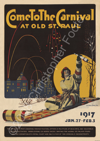 Saint Paul Winter Carnival, Minnesota 1 Poster Art