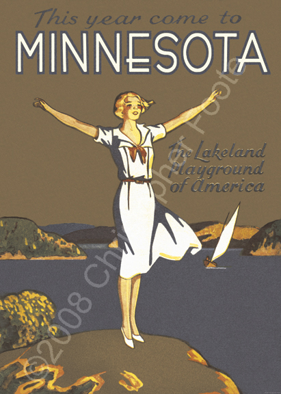 Come To Minnesota Poster Art