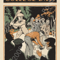 College Fraternity Hazing Humor Poster Art