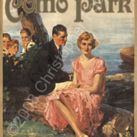 Como Park, Saint Paul, Minnesota Poster Art