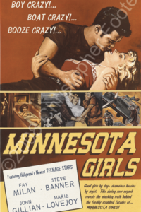 Minnesota Girls Movie Poster Art