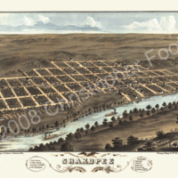 Shakopee Minnesota Map Poster Art