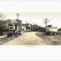 Lake Street, Wayzata, Minnesota 1922 Photo Art
